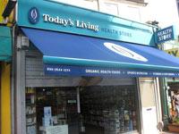 Health Food Shop Clapham High Street London